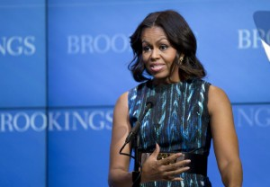 Michelle Obama @FLOTUS First Lady Michelle Obama has tapped new Let's Move! executive director to replace Sam Kass. | (AP Photo/Manuel Balce Ceneta)